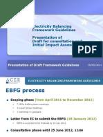 Presentation of Draft FGEB