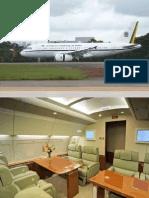 Avión Presidencial del Brasil.