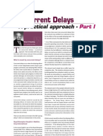 Aug 03 ~ Concurrent Delays - A Practical Approach (Part I)