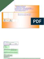 Planillas Parametrizadas Proyecto de Riego