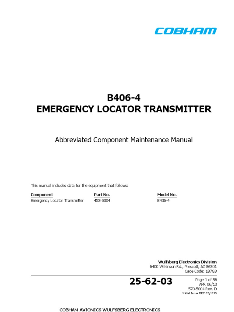 Acmm abbreviated component maintenance manual.