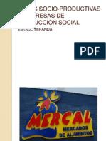 REDES SOCIO-PRODUCTIVAS Y EMPRESAS DE PRODUCCIÓN SOCIAL
