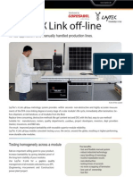 LayTec X Link Off-line Flyer