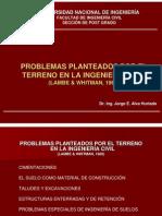 Problemas Planteados Por El Terreno-Lambe-Whitman