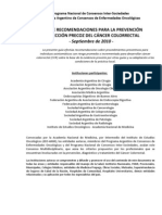 2010 Prevencion Cancer Colorectal