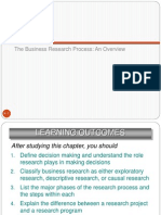 Chapter 4 the Business Research Process
