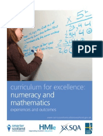 Numeracy Mathematics Experiences Outcomes Tcm4-539878
