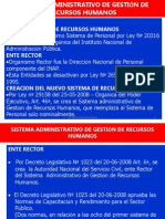 Sistema Administrativo Personal