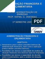 AULAS DE  ADM FINANCEIRA E ORÇAMENTÁRIA.ppt