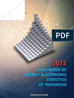 Handbook of Energy & Economic Statistics Ind 2012