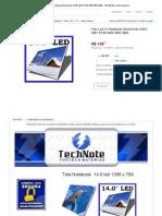 Tela Led 14 Notebook Emachines D442-V081 D728-4455 4693 4862 - R$ 199,90 No MercadoLivre