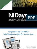 Integracion Lv y Solidworks