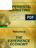 Experiental Marketing 1