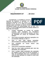 Requerimento para solicitar informações sobre Eike Batista ao Ministério Previdência