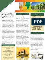 Newsletter July-Sep