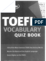 Vocabulary for TOEFL iBT | Test Of English As A Foreign