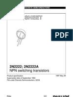 Npn Transistor 2N2222