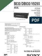 Sony-STRDB830 930 Rec