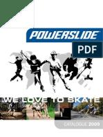 PowerSlide Catalogue2009