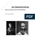 Poetas que traducen poetas