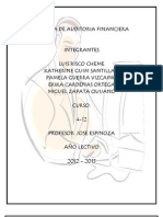 Carpeta de Auditoria Financiera