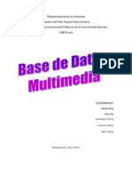 Base de Datos Multimedia (1)