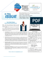 Stapley Pharmacy July 2013 Newsletter