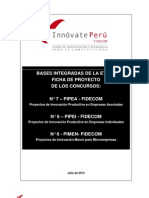 Bases Integradas Del Concurso Fidecom