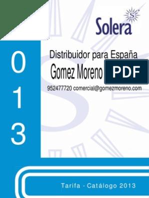 SOLERA 5223 Marco y Puerta para Caja de Distribuci/ón