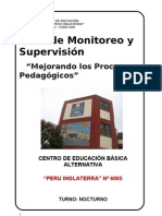 Plan Supervision 6065