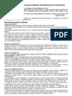 16 - O PASSE-RESPONSABILIDADE DO MÉDIUM-RECOMENDAÇÃO AOS ASSISTIDOS