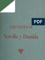 1906, Catalogo original de la primera exposición solitario en París