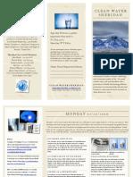 Clean Water Brochure
