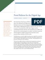 2013 Postal Reform