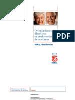 SERAL Orientaciones Dieteticas Residencias Ancianos