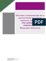 ANEXO 1-Guia MIA Particular Sector Vias Grales de Comunicacion