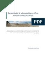 Caracterización de la inundabilidad en el AMSS (El Salvador, CA). Programa IPGARAMSS