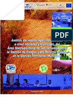 coherencia del marco institucional a nivel regional y municipal en el Área Metropolitana de San