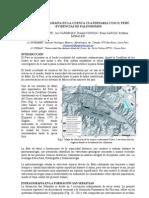 Benavente Et Al.,Sismoestratigrfia de La Cuenca Cuaternaria Cusco