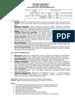 M501 Metrology & Instrumentation