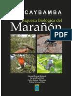 Huacaybamba, riqueza biológica del Marañón BTES