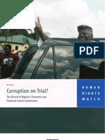 63096642 HRW Corruption on Trial