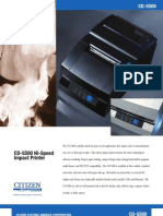 Citizen Systems CD-S500 Impact Printer