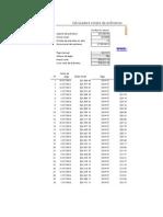 Calculadora de Prestamos Con Excel
