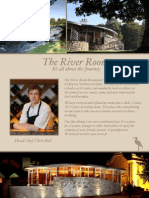 River Room Menus - It's All About the Journey