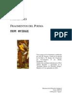Fragmentos Parmenides