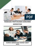Buku Panduan Penyusunan Dokumen Akreditasi - 2012