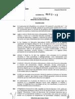 Acuerdo Paseos 0053-13