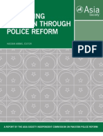 Asia Society Pakistan Police Reform
