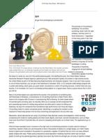 3-D Printing Takes Shape1 - IEEE Spectrum